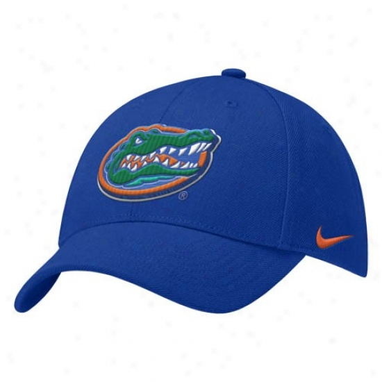 Uf Hats : Nike Uf Royal Blue Wool Classic Hats