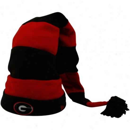 Uga Hats : New Era Uga Preschool Red-black Ten Fold Hats