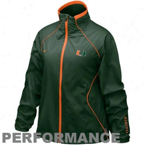 Miami Hurricanes Jacket, Miami Coat, Miami Parka