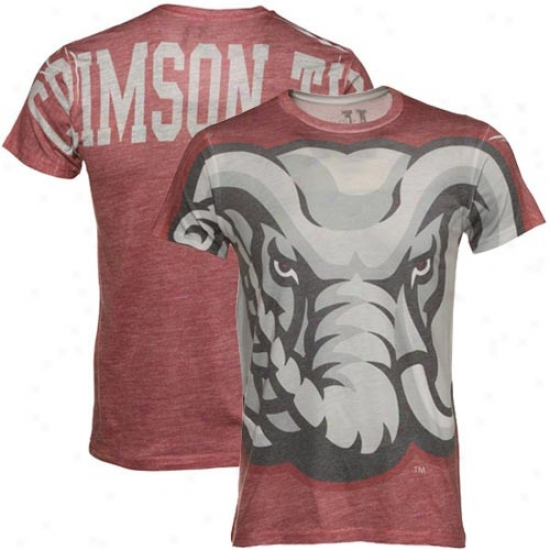 University Of Alabama Attire: My U University Of Alabama Crimson Over It T-shirt