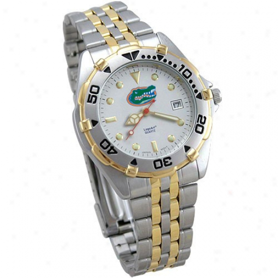 University Of Florida Watches : University Of Florida Men's Elite Watches W/stainless Steel Band