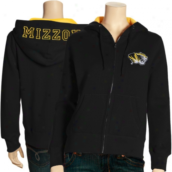 Seminary of learning Of Missouri Clip : University Of Missouri Ladies Wicked Academy Full Zip Fleece