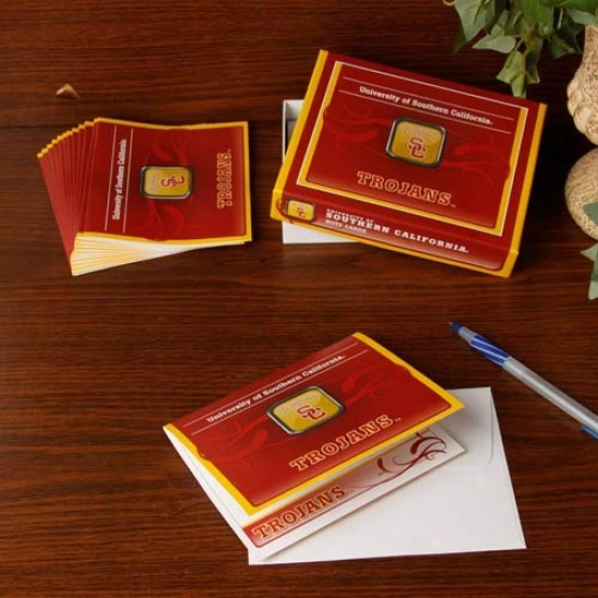 Usc Trojans Boxed Note Cards