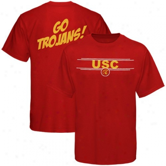 Usc Trojans Tshirt : Sports Speciialties By Nike Usc Trojans Cardinal Team Cheer Tshirt
