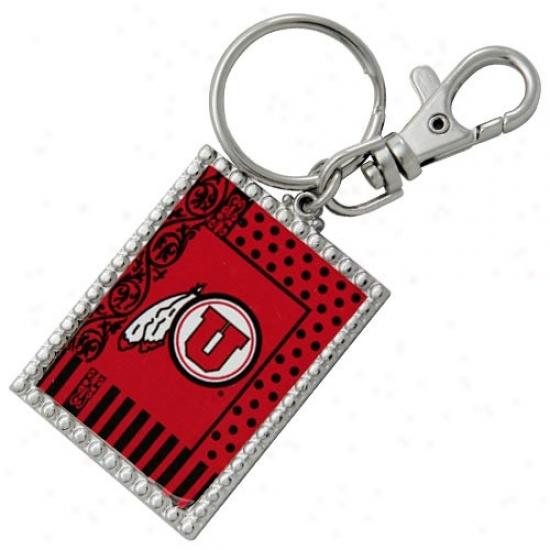 Utah Uteq Gurly Girl Keychain
