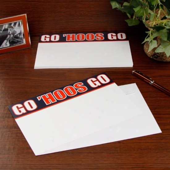 Virginia Cavaliers 20-pack Team Slogan Stationery
