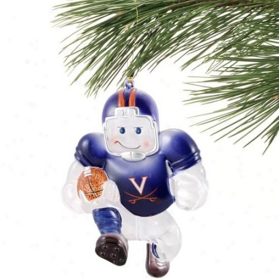 Virginia Cavalierz Acrylic Holiday Ornament