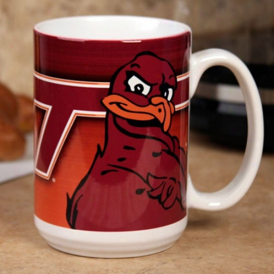 Virginia Tech Hokies 15 Oz. Team Logo Ceramic Mug
