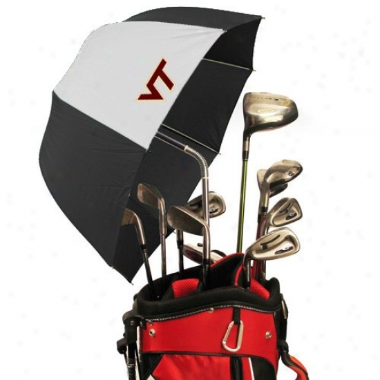 Virginia Tech Hokies Drizzlestik Golf Umbrella
