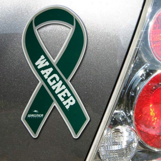 Wagner College Seahawks Ribbon Magnet