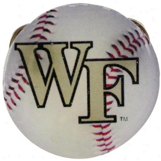 Wake Foredt Demon Deacons Hat : Wake Forest Demon Deacons Double Back Baseball Pin
