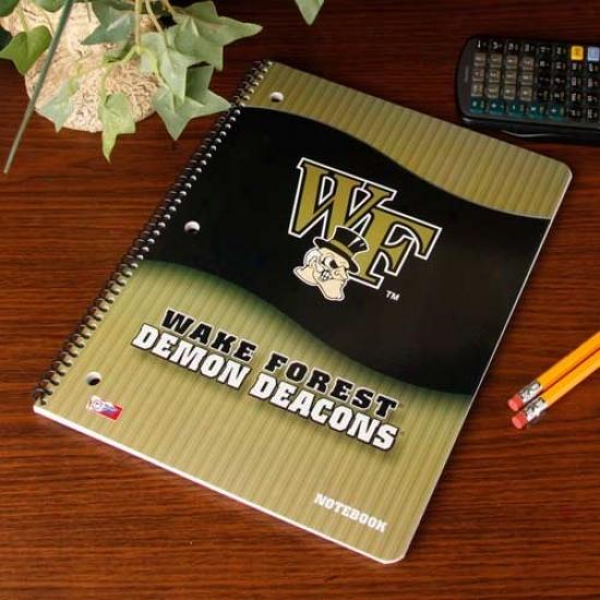 Wzke Forest Demon Deacons Notebook