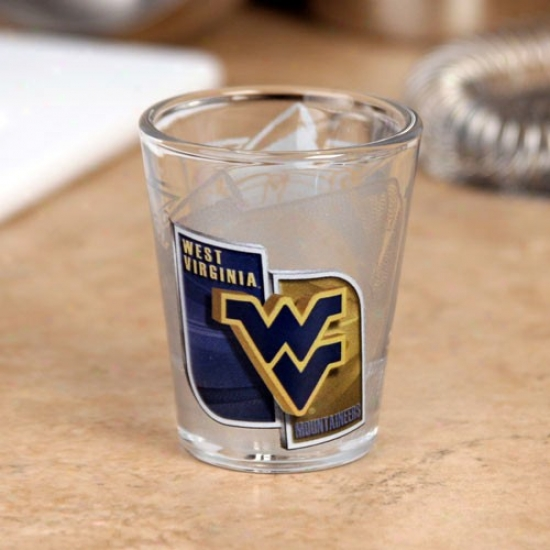 West Virginia Mountaineers High Defini5ion Shot Glass