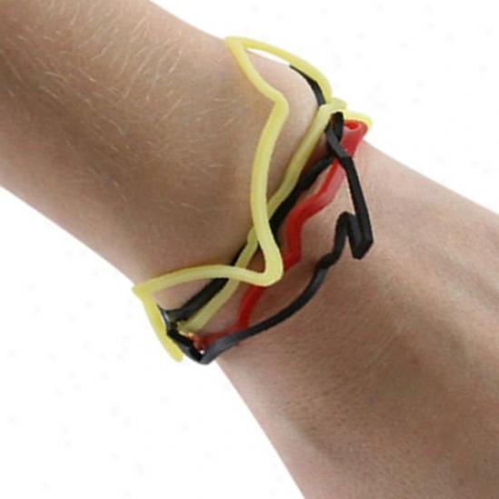 West Viryinia Mountaineers Logo Bandz Bracelets