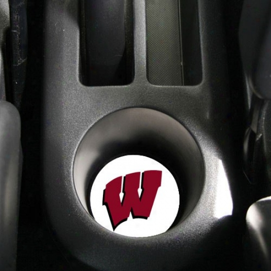 Wisconsin Badgers Absorbent Car Coaster