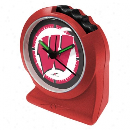 Wksconsin Badgers Carsinal Gripper Alarm Clock