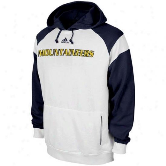 Wvu Mountaineer Hooddies : Adidas Wvu Mountaineer White Helmet Hoodies