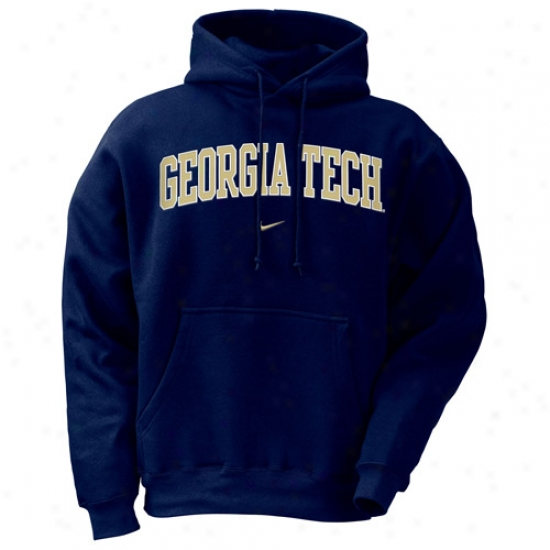 Yellow Jackets Sweatshirt : Nike Georgia Tech Yellow Jackets Ships Classic Sweatshirt Sweatshirt