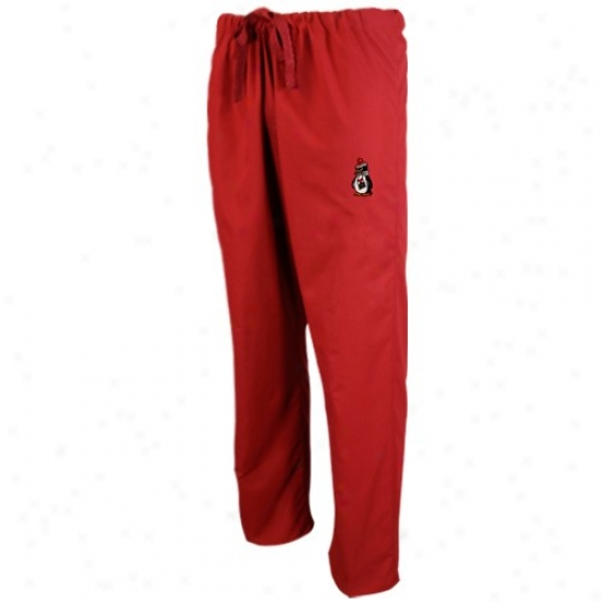 Youngstown National Penguins Red Brushwood Pants
