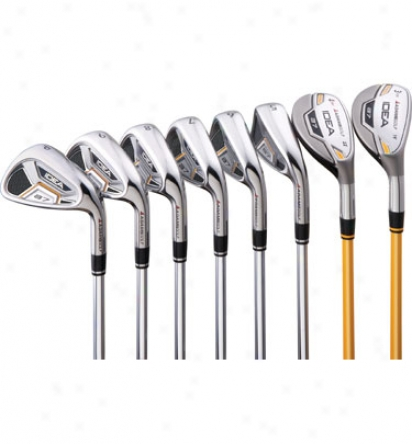 Adams A7 Iron Set With Armor Shafts