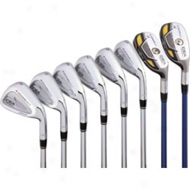 Adams Idea Pro Gold Iron Set 3-pw With Project X Steel Shafts