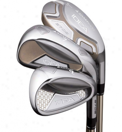 Adams Lady A7 Os 4-sw Iron Fix With Plumbago Shafts