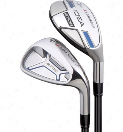 Adams Preowned A7 Os 3-pw Iron Set With Graphite Shafts