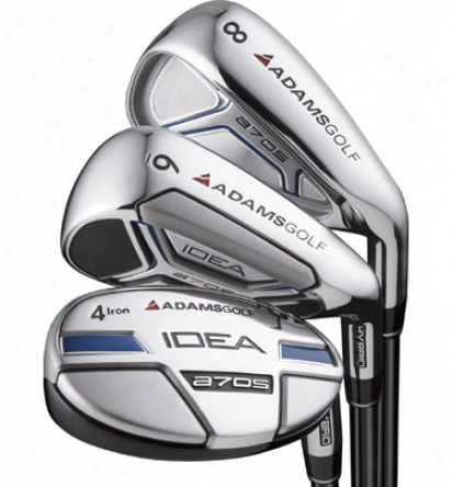 Adams Preowned A7 Os 3-pw Iron Set With Steel Shafts