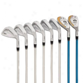 Adams Preowned Idea Pro Set 3i,4i, 5-pw Through  Steel Shafts