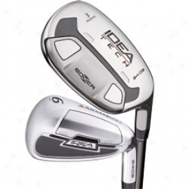 Adams Preowned Idea Tech A4 Os Iron Set 3h-5h, 6-pw With Graphite Shafts
