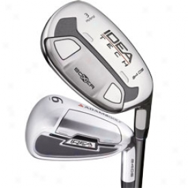 Adams Preowned Idea Tech A4 Os Iron Set 3h-5h, 6-pw With Steel Shafts