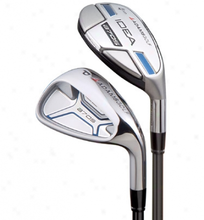 Adams Senior A7 Os 4-sw Iron Set With Graphite Shafts