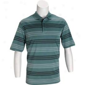 Adidas Climacool Micro Block Stripe Polo
