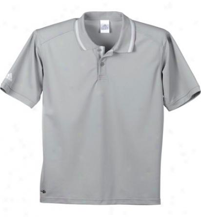 Adidas Logo Men S Climalite Athletic Polo