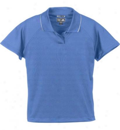 Adidas Logo Women S Climacool Mesh Polo