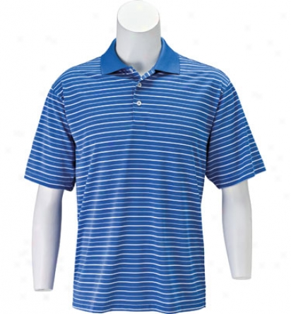 Adidas Men S Climalite Stripe Polo