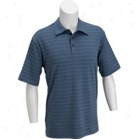 Adidas Men S Climalite Warm Spread Stripe Polo