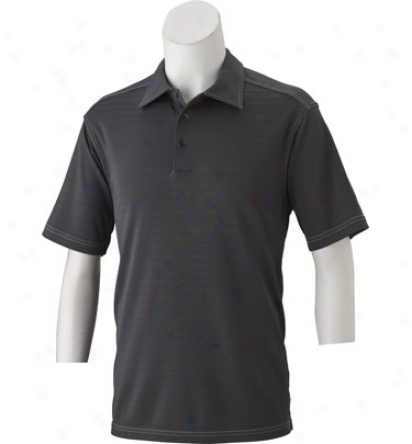 Adidas Men S Climalite Warm Textured Stripe Polo