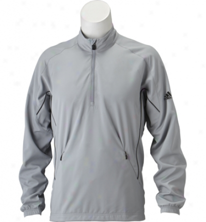 Adidas Men S Climaproof Wind 1/2 Zip Stretch Jacket