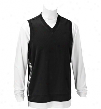 Adidas Men S Performance Knit Sweater Vest