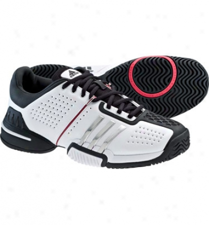 Adidas Tennis Barricade 6.0 - White/silver/bblack