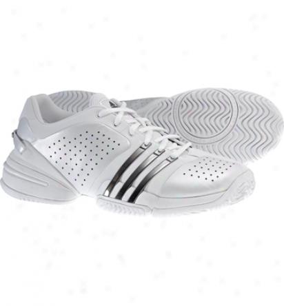 Adidas Tennis Barricade Adilibria - Runwhite/ Black Silver/black