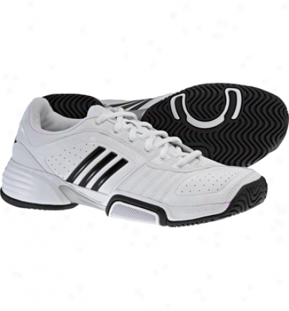 Adidas Tennis Barricade Team Ii W - Running White/black/metallic Soft and clear