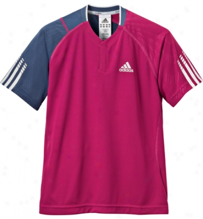 Adidas Tennis Boy S Edge Theme Polo