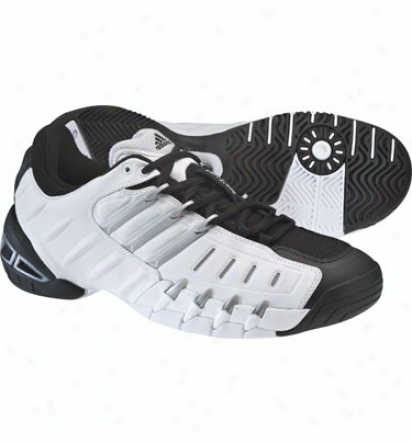 Adidas Tennis Men S Barricade Ii - Black/silver/white