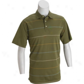 Ashworth Men S Dry eTch Interlok Polo Shirt