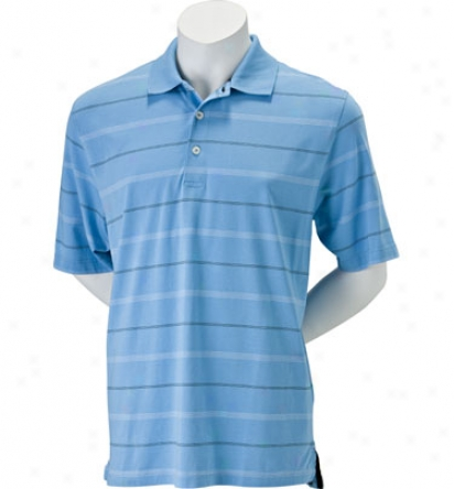 Ashworth Men S Ez Tech Jersey Stripe Polo