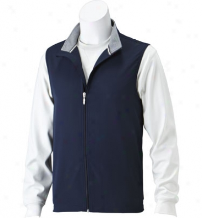 Ashworth Men S Full Zip Wind Vest