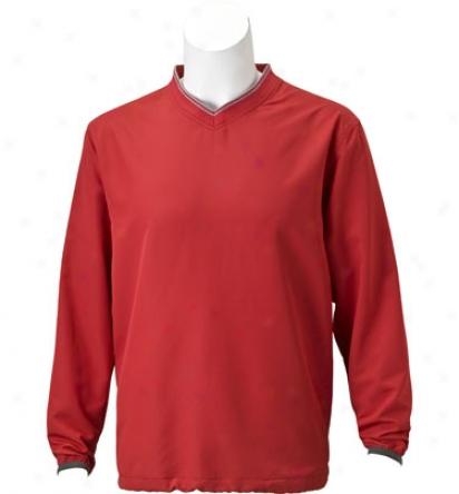 Ashworth Men S V-neck Windshirt