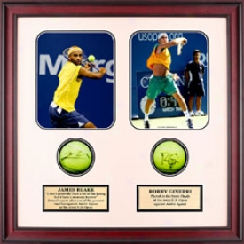 Assorted Blake &ginepri Autograph Shadow Box